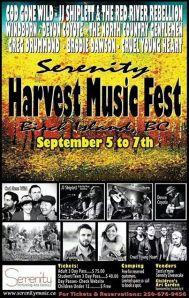 harvest fest poster