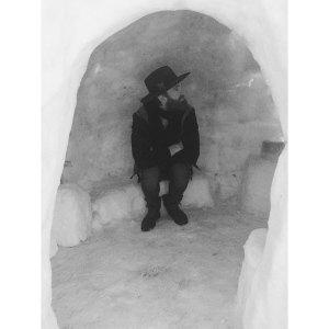 jon in igloo