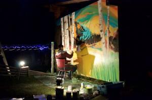 dylan night mural