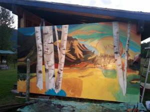mural day 3
